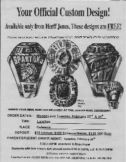Jostens Class Ring PARENT/STUDENT Order & Information